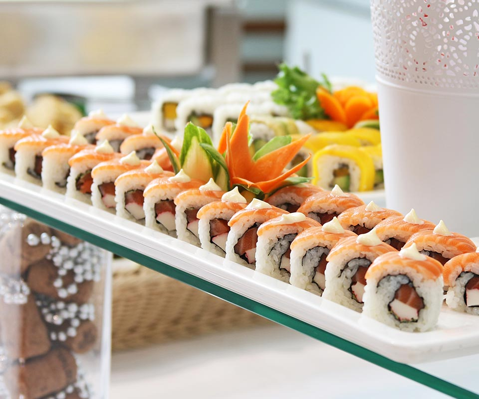 Sushibuffet catering